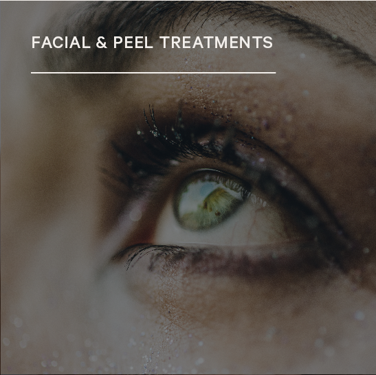 Facial & Peel Treatments